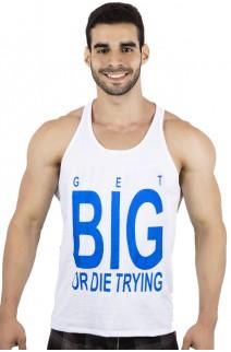 Camiseta Regata (Get Big Or Die Trying) | Ref: KS-F529