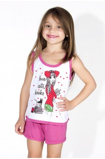 Babydoll Infantil 056 (Pink com menininha) AB