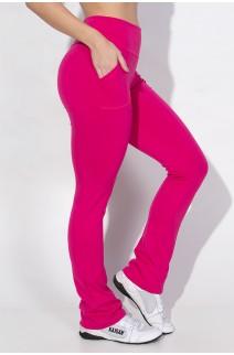 Calça Legging Bailarina Cores Lisas (Rosa Pink) | Ref: KS-F145-002