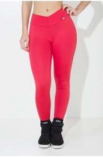 Calça Amanda com Cós em V (Vermelho) | Ref: KS-F712-007