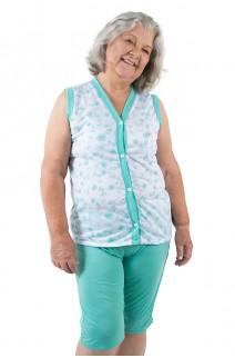 Pijama Pescador 098 (Verde Piscina) | Ref: CEZ-PA098-007