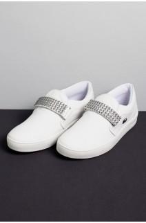 Tênis Mini Sneaker com Velcro (Branco) | Ref: KS-T41