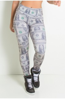 Legging Dólar Sublimada | Ref: KS-F1006