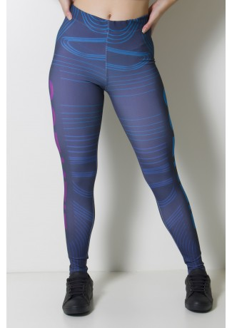 Calça Legging Estampa Digital Location | Ref: CAL369-041