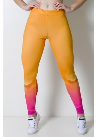 Calça Legging Estampa Digital Paint Art | Ref: CAL374-041