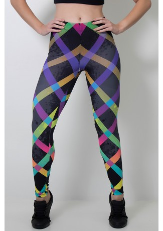 Calça Feminina Legging Estampa Digital Xxcolor | Ref: CAL382-041