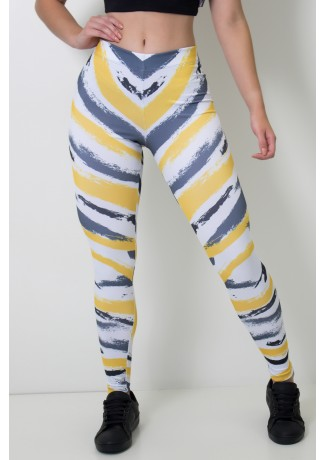 Calça Feminina Legging Sublimada Painttiger   Ref: CAL391-041