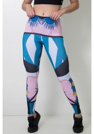 Calça Feminina Legging Sublimada Modern Art | Ref: CAL392-041