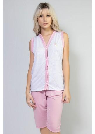 Pijama Pescador 098 Rosa | Ref: CEZ-PA098-007