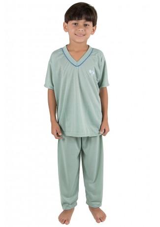 Pijama infantil masculino 103 (Verde) | Ref: CEZ-PA103-003