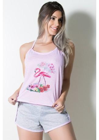Babydoll Feminino 258 (Rosa) | Ref: CEZ-PA258-004