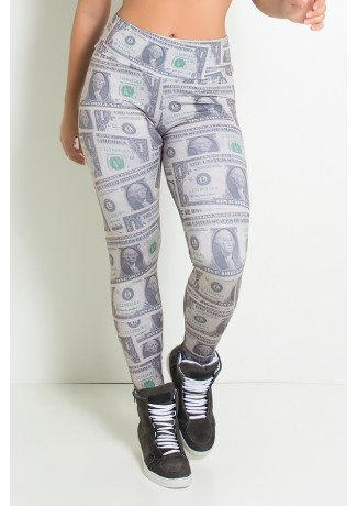 Legging Dólar Estampa Digital | Ref: F1006-001