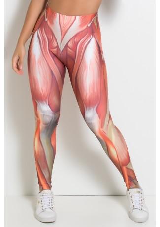 Legging Músculos Sublimada | Ref: F1080-001