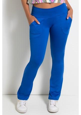 Calça Bailarina Isabel (Azul Royal)   Ref:F180-003