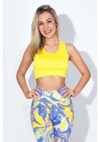 Top Eliane Liso (Amarelo) | Ref: F673-007