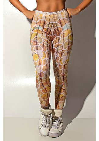 Legging Wood Art Sublimada | Ref: KS-F1207-001