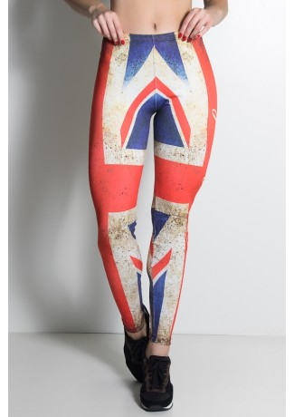 Legging England Estampa Digital | Ref: KS-F1828-001