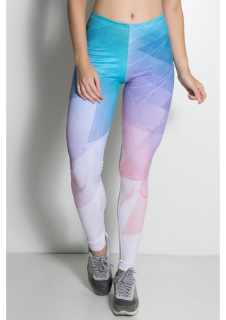 Legging Colorido Degradê Sublimada | Ref: KS-F2186-001