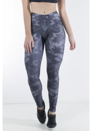 Legging Jeans Camuflado Sublimada   Ref: KS-F2252-001