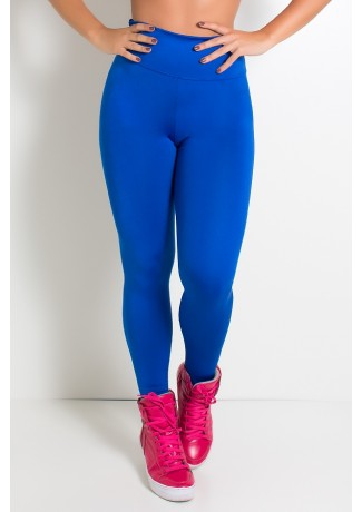 Legging Cós Alto Azul Royal | Ref: KS-F23-006