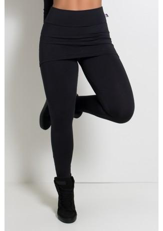 Legging com Tapa Bumbum (Preto) | Ref: KS-F35-002