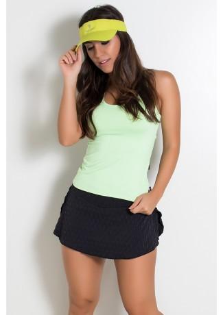 Camiseta Fitness Júlia  (Verde Claro) | Ref: KS-F39-004