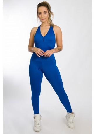 Macacão Fitness Bela Azul Royal | Ref: KS-F87-002