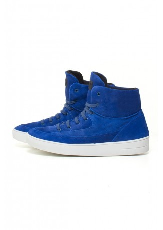 Tênis Sneaker Camurça (Azul Royal) | Ref: KS-T52-001