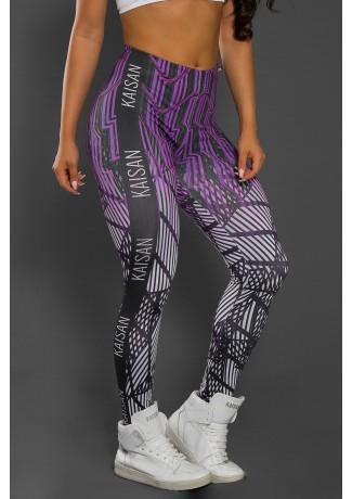 Legging Estampa Digital PRO (Ondas Neon) | Ref: NTSP33-001