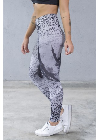 Legging Estampa Digital  PRO (Pantera Albina) | Ref: NTSP36-001