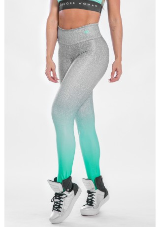 Calça Legging Estampa Digital Green Fade | Ref: K2297-A