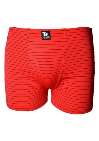 Cuecas Boxer Microfibra - Risca de Giz 232 (Avulsa Vermelha) AB