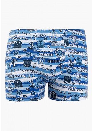 Cuecas Boxer Microfibra 494 azul (Califórnia) CEZ-CZ494-021