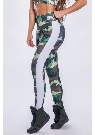Calça Estampa Digital Military | Ref: K2551-A