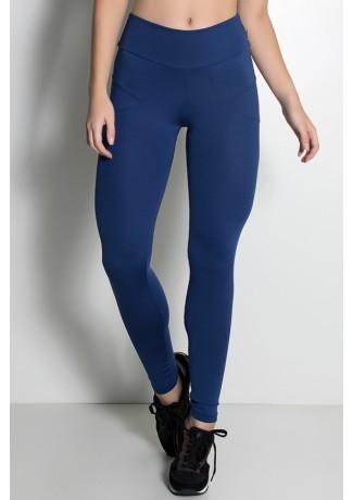 Calça Legging Levanta Bumbum (Azul Marinho)   Ref: KS-F432-003