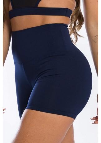 Shortinho Cós Alto (Azul Marinho) | Ref: K2450-C