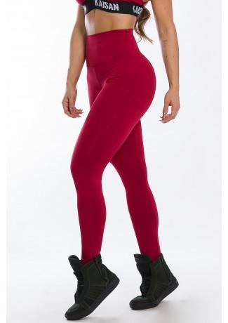 Calça Legging Levanta Bumbum (Vinho)   Ref: K2429-B