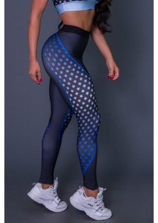 Calça Legging Com Cós de Elástico 5 Stars | Ref: K2644