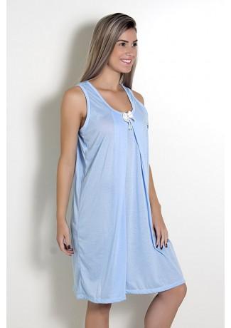 Camisola de amamentação 212 (Azul)   Ref: CEZ-CM08-001
