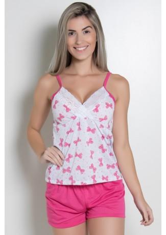 Babydoll Feminino 252 (Pink) AB | Ref: CEZ-PA252-002
