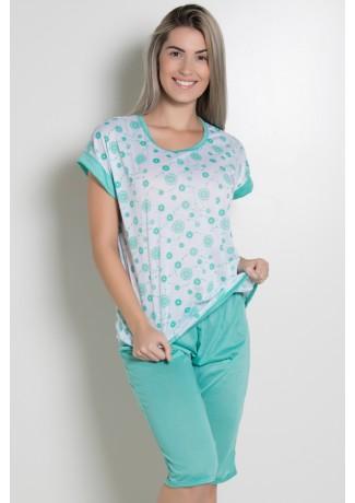 Pijama Pescador 032 (Verde Piscina) CEZ-PA032-006