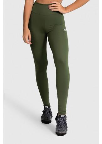 Legging de Poliamida Básica (Verde Militar)   Ref: GO1-I