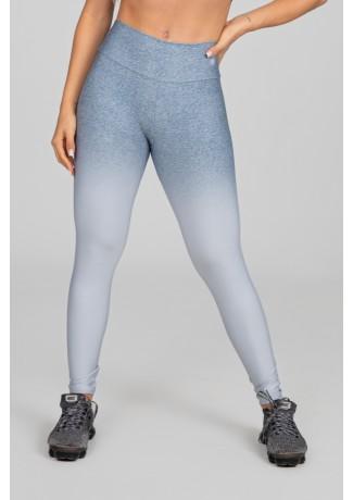 Calça Legging Estampa Digital com Cós Duplo (Silver Blend) | Ref: K2973-A