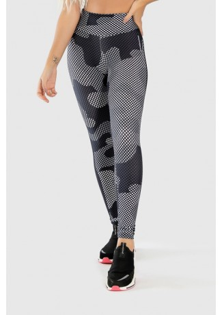 Calça Legging Fitness Estampa Digital Camo Screen | Ref: GO331