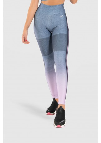 Calça Legging Fitness Estampa Digital Crossing Colors | Ref: GO178