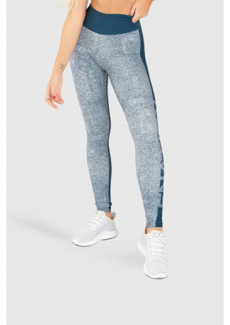 Calça Legging Fitness Estampa Digital Double Merge | Ref: GO197