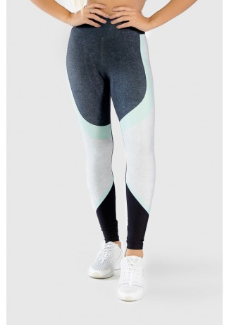 Calça Legging Fitness Estampa Digital Green Twist | Ref: GO294