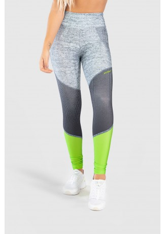 Calça Legging Fitness Estampa Digital Neon Light | Ref: GO239