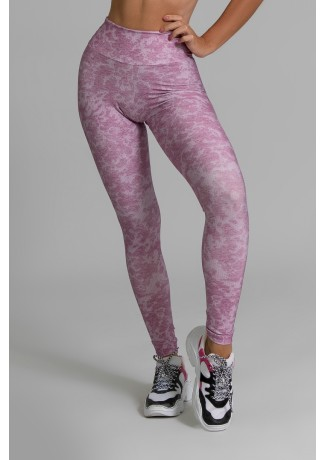 Calça Legging Fitness Estampa Digital Smooth Wine | Ref: GO371