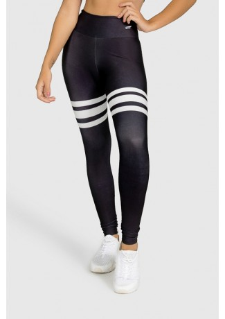 Calça Legging Fitness Estampa Digital Third Basic | Ref: GO290